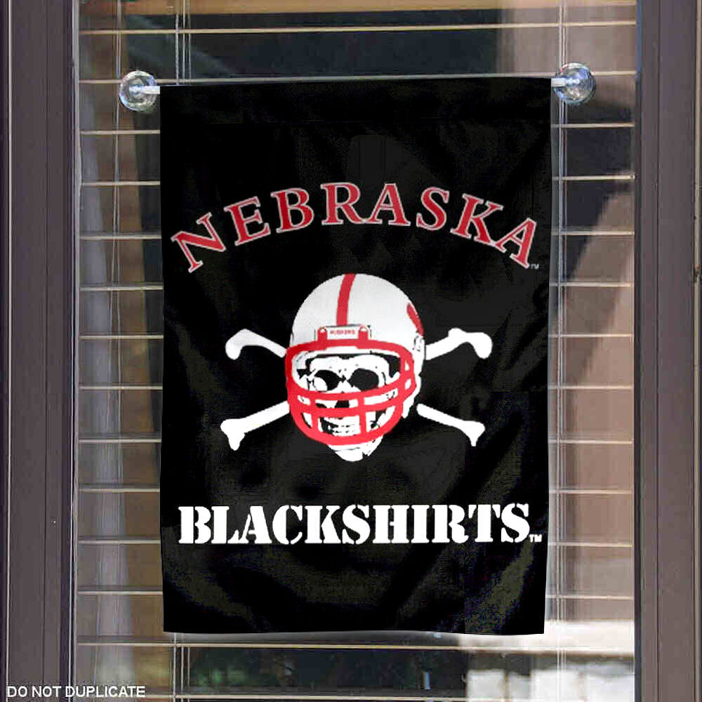 Nebraska Cornhuskers Garden Flag and Yard Banner