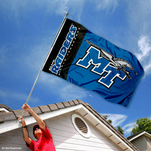 Middle Tennessee State Banner Flag MTSU Double Sided