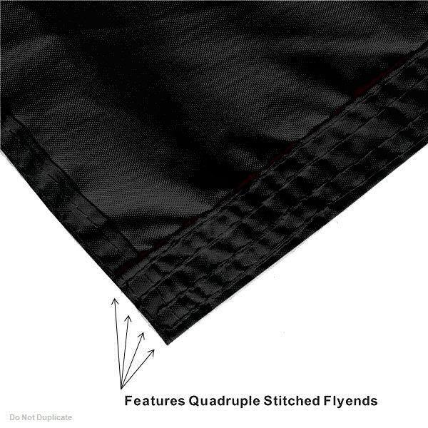 Oregon Ducks Black Flag Large 3x5