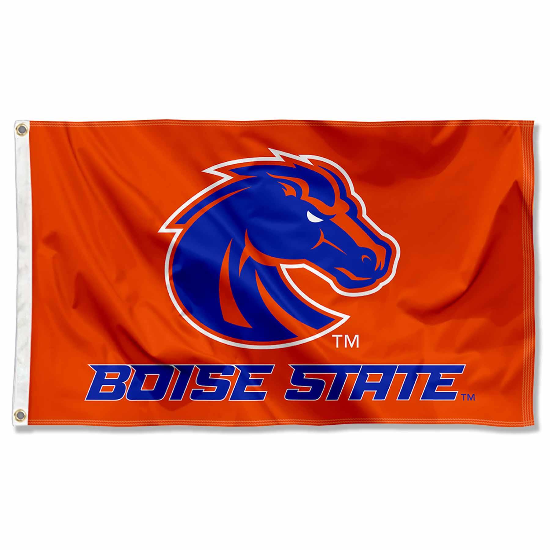 Boise State Broncos Orange Flag Large 3x5