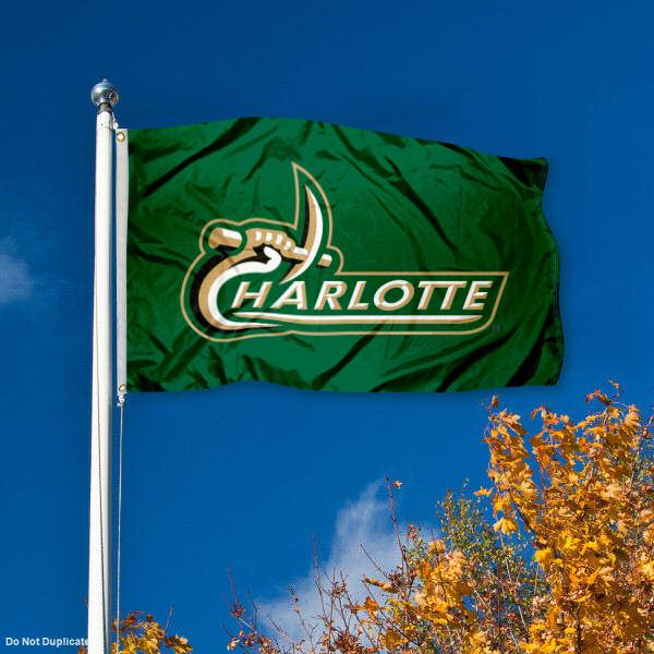 University of North Carolina at Charlotte 49ers Flag UNCC Large 3x5