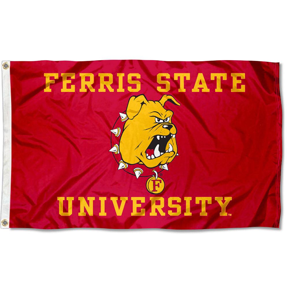 Ferris State Bulldogs FSU Flag 3x5 Banner