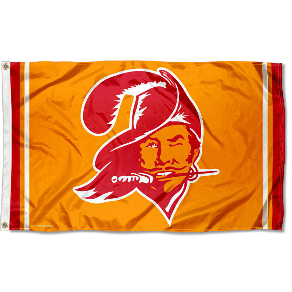 Image is loading Tampa-Bay-Buccaneers-Throwback-Vintage-NFL-Flag-Tailgating- 1ff6ce07e