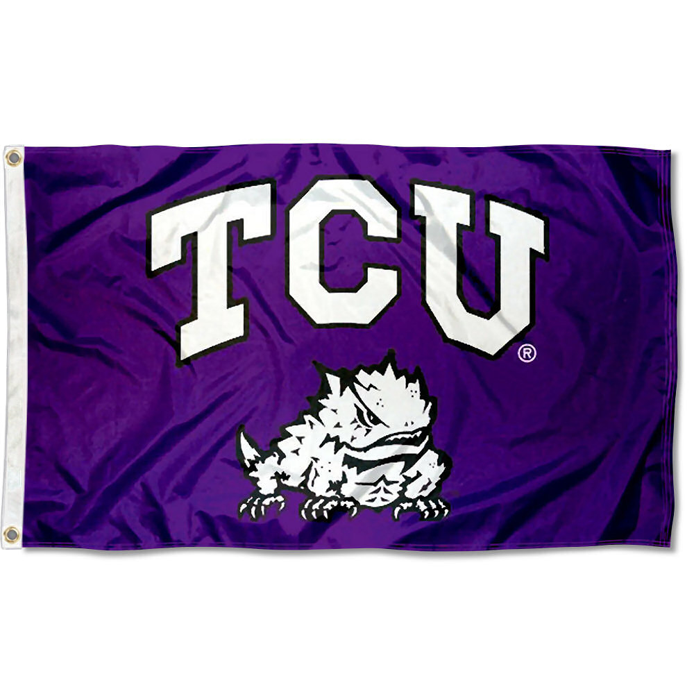 online store df329 64870 Texas Christian University Horned Frogs Flag TCU Large 3x5