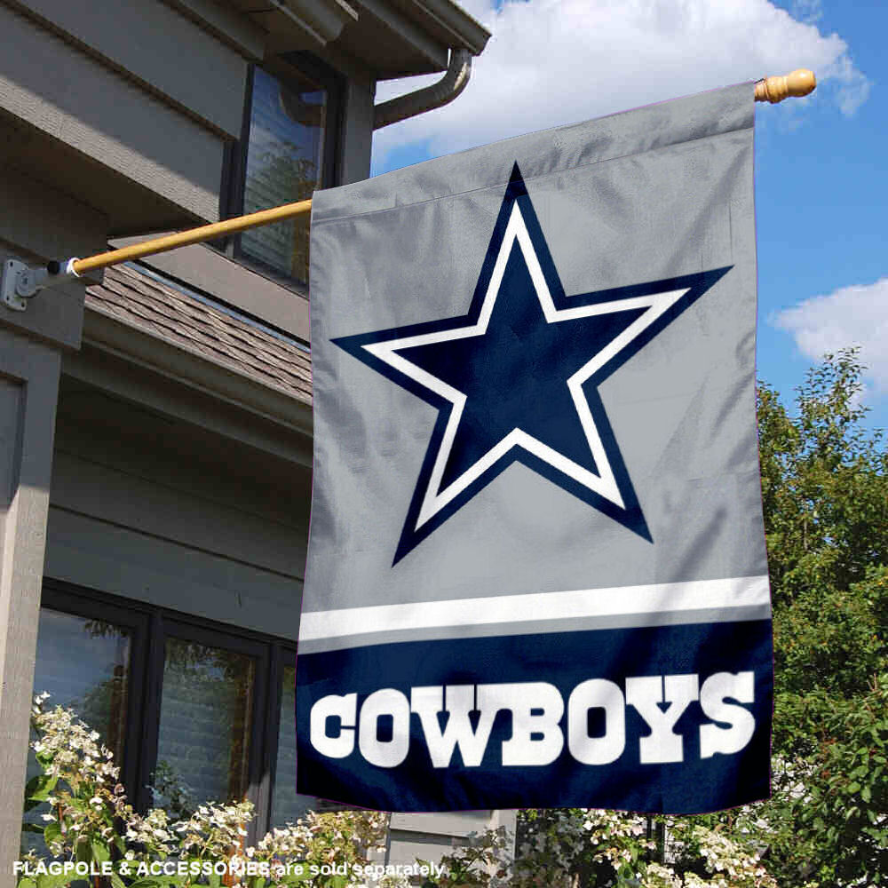 Football-NFL Sports Mem, Cards & Fan Shop NFL Dallas Cowboys House Flag and Banner