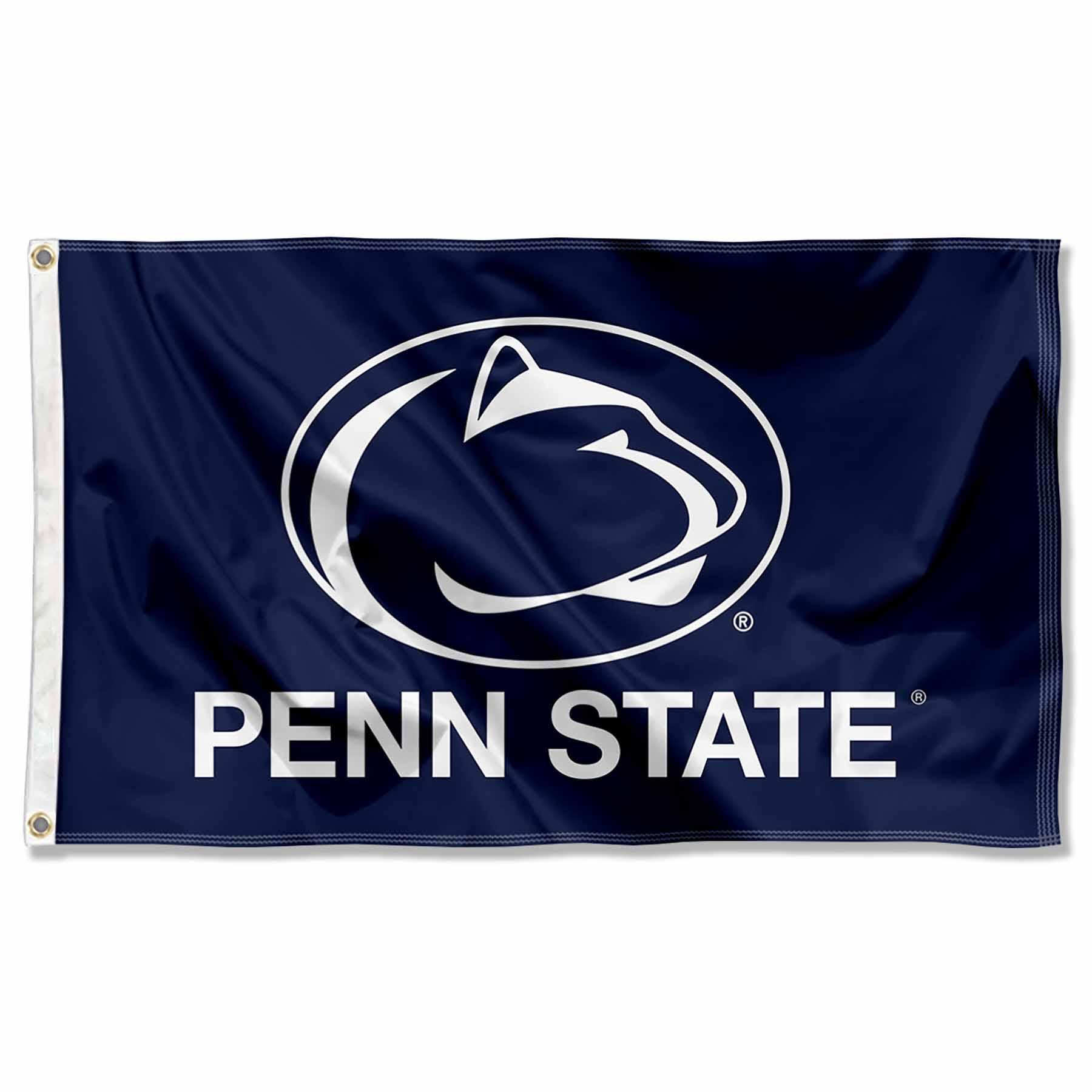 online store 07af0 3edbd Penn State Nittany Lions Flag PSU Blue Large 3x5