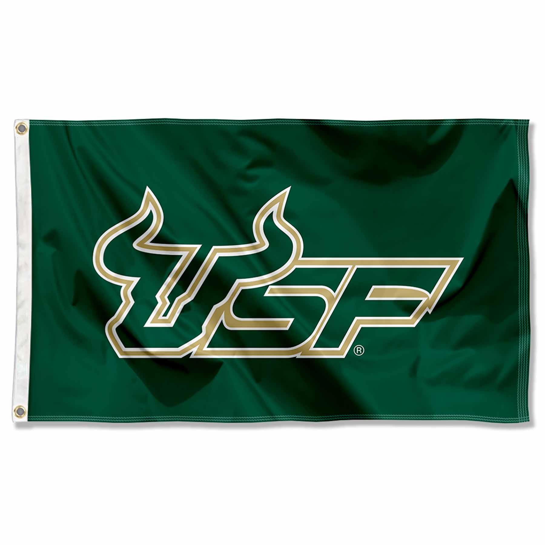 13609a7bf0 University of South Florida Bulls Flag USF Large 3x5 816844016035
