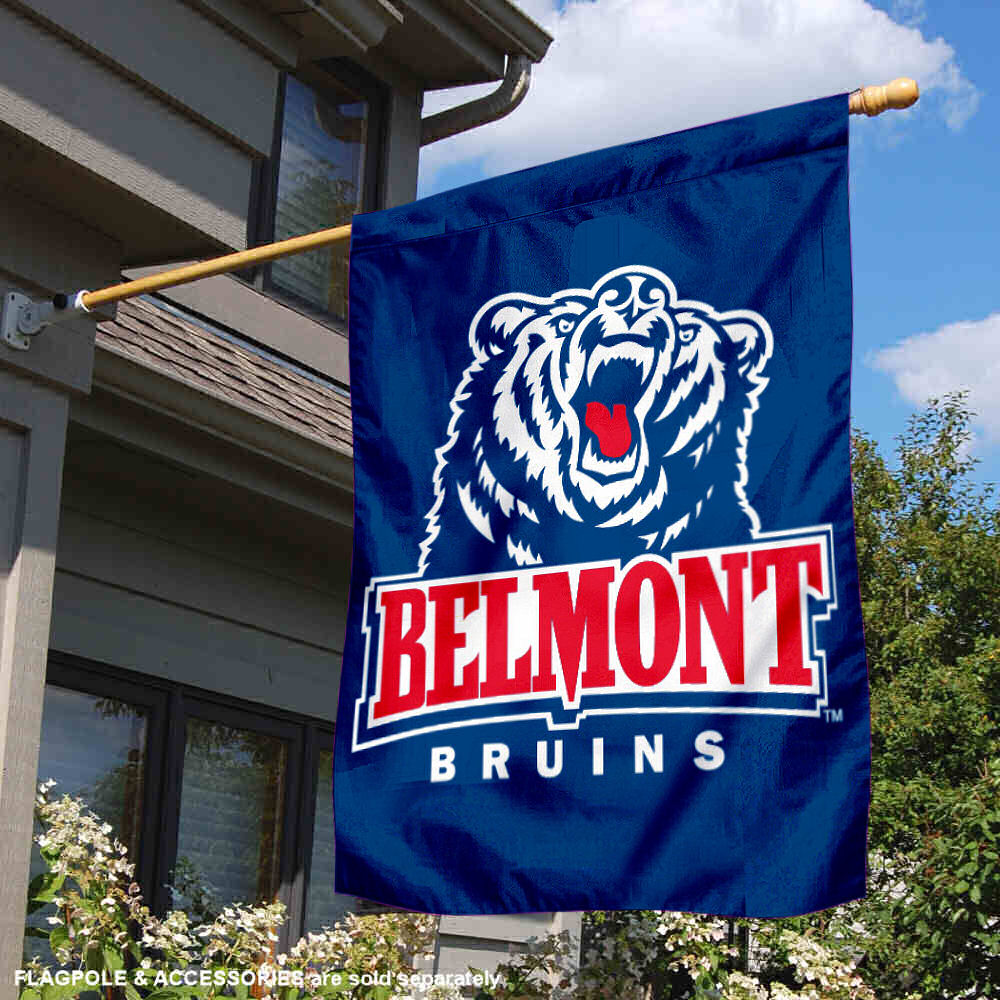 College Flags and Banners Co Belmont University Pennant Full Size Felt