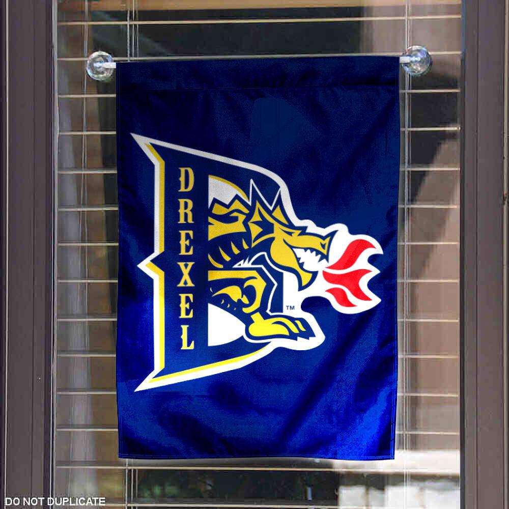 What I Learned At Drexel University In National Distance: Drexel Dragons Garden Flag Yard Banner 816844018527