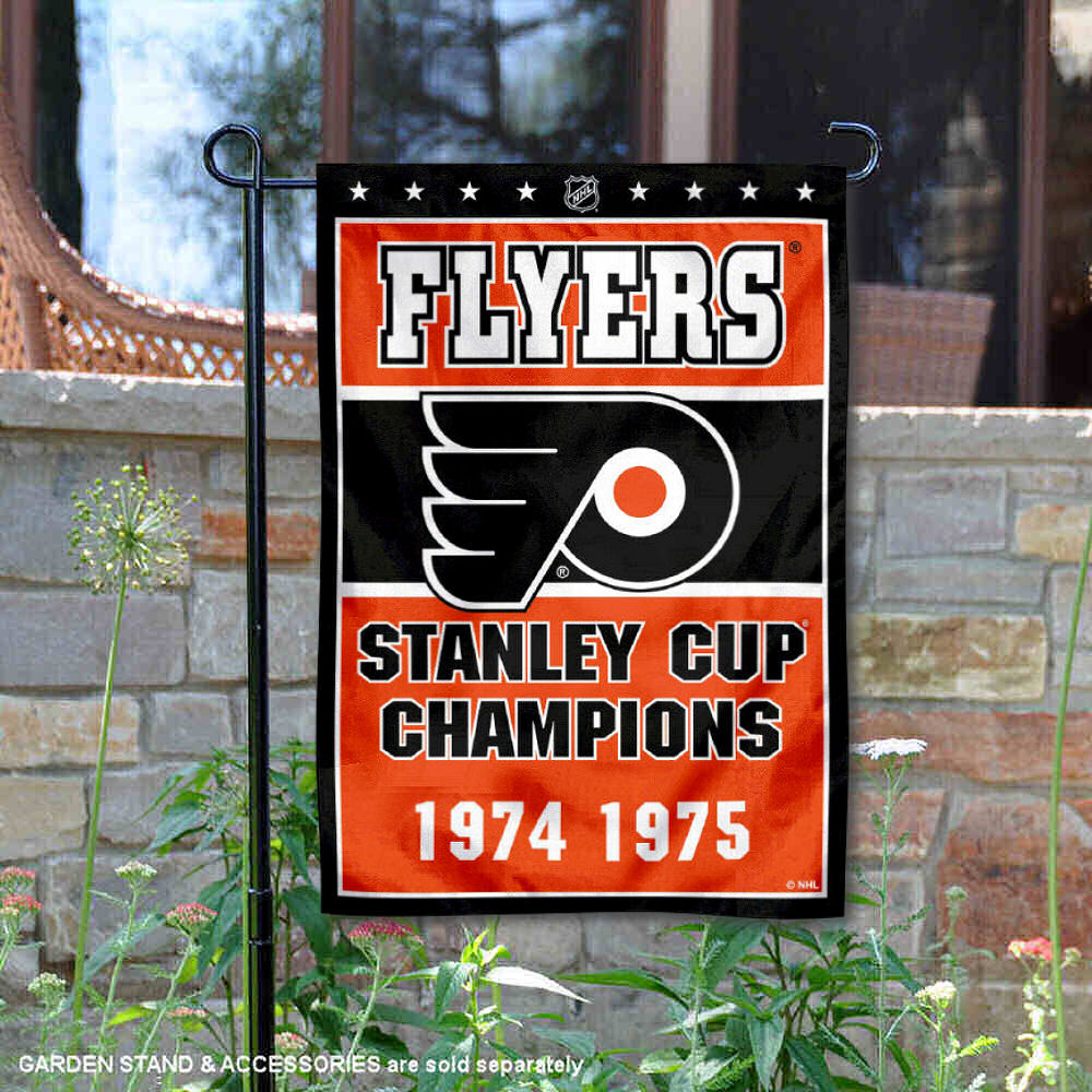 image is loading philadelphia flyers 2 time stanley cup champions garden