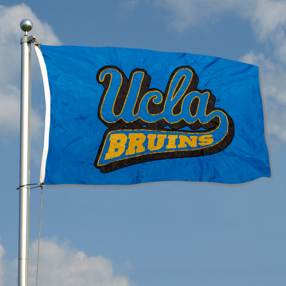 UCLA Bruins Embroidered and Stitched Nylon Flag